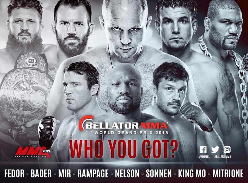 Картинки по запросу гран-при тяжеловесов Bellator